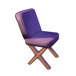 Chair Confy Purple
