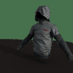 Urban Ninja Jacket (male/gray)