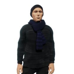 Pullover_scarf_black