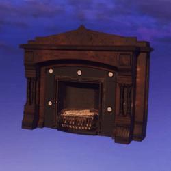 High Resolution Fireplace