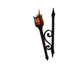 Scripted Medieval Torch