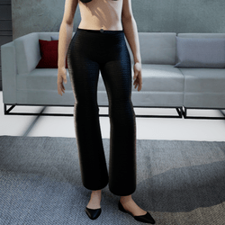 Black Corduroy Pants
