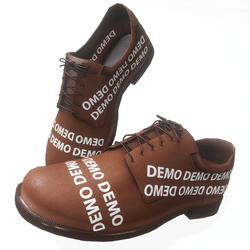 Oxford style male shoes - demo
