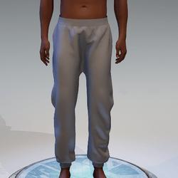 Basic Gray Sweatpants for Men