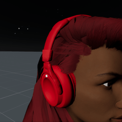 Headphones Red F