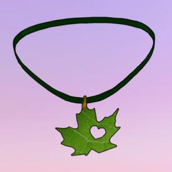 Leaf Choker Green