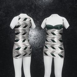 Dress Joy Arrow green