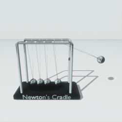 Newton's Cradle Balls (animated)