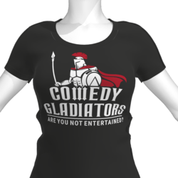 Comedy Gladiators T-Shirt - Female
