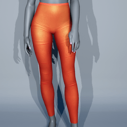 Leggings - Orange Sunset