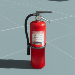 Fire Extinguisher Aged