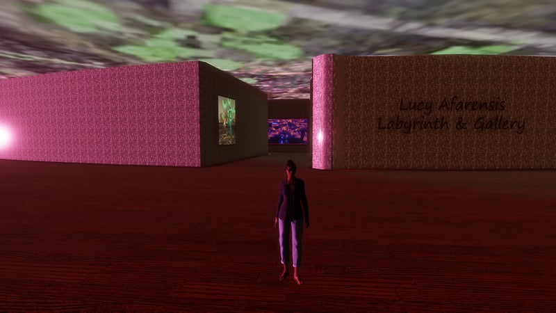 Lucy's Labyrinth & Gallery