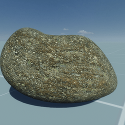 DYNAMIC  MUD  DIRT STONE- GRAB AND THROW