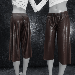 Culottes Leather brown