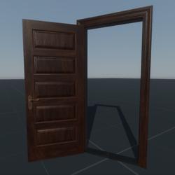 Door Panel Single (C16L)