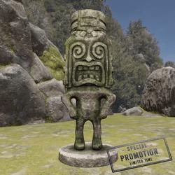 TKA GM Tiki Statue Stone