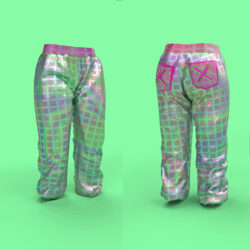 Women's trouser Iridescent