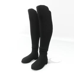 AV 2.0   Winter boots wide calf - Black