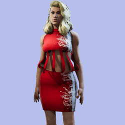 Mindy Red Frame