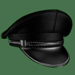 Leather cap Male