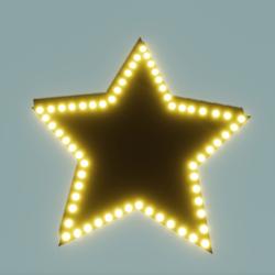 Star Vanity Mirror