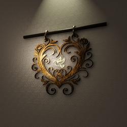 LOVE DOVE LIGHT - INDOOR/OUTDOOR
