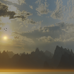 appalachian sunrise skybox