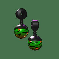 Male Halloween Themed Earrings
