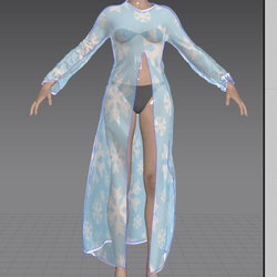 Unfrozen Dress Coat More Transparent (TM)