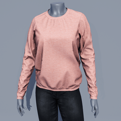 Women Sweater - Coral Pink
