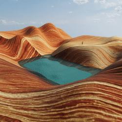 GRAND CANYON ROCKS TERRAIN
