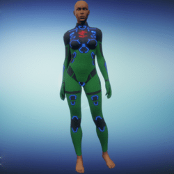 BioArmor ZV01 Body Female Green