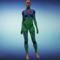 BioArmor ZV01 Body Female Green