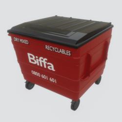 UK Large Wheelie Bin