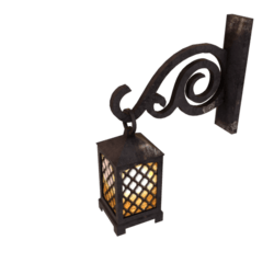 Medieval Style Wall Lamp