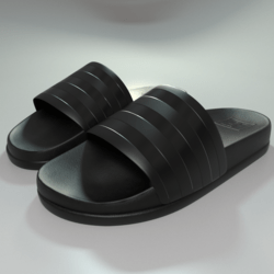 Sliders shoes Black Stripes male