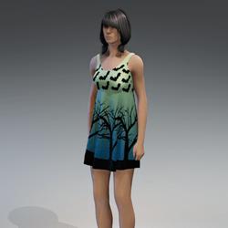 Dress Kassandra 2.0 halloween green