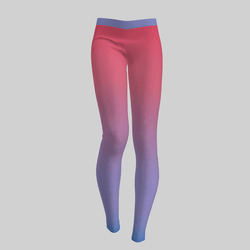 Leggings Maddy Gradient Lilac & Pink 2.0
