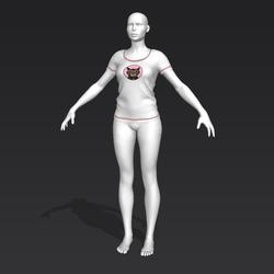 Alinity T-Shirt - Milo - Female