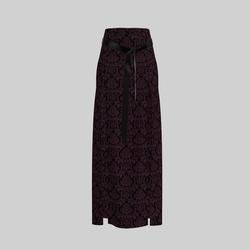 Skirt Briana Damask Purple & Black 2.0