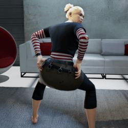 Shake Butt Gesture (Female)
