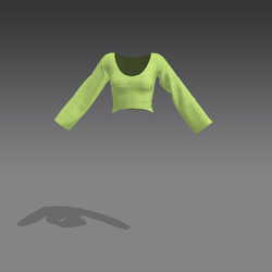 Rose Shirt - Green (MsAquaria)