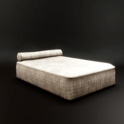 Mattress Bed with Bolster