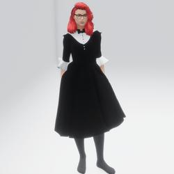 Female Tuxedo Dress (TM)