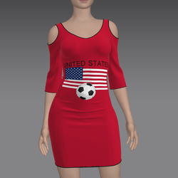 United States Soccer Dress