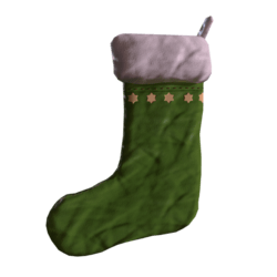 Christmas Sock Green