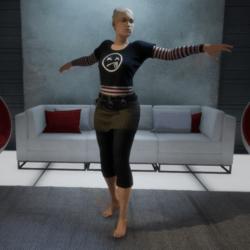 Ballet Dance 4 (Female)