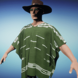South Western Poncho
