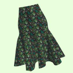 A-weema-weh - Ladies Jungle Nut Skirt