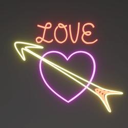 Neon - Cupid's Love Sign v2